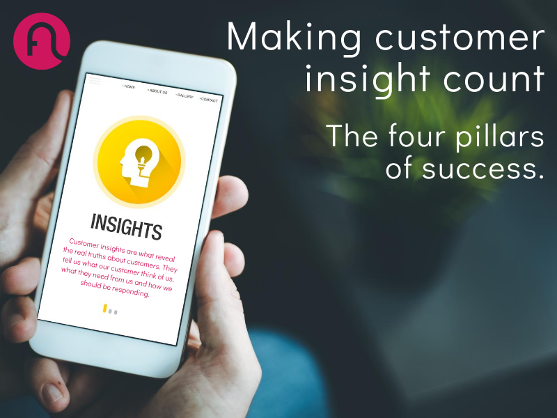 Making customer insight count
